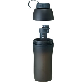 Platypus Meta - Recipientes para bebidas - with Microfilter 1000ml gris